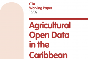 1.Agricultural open data in the Caribbean